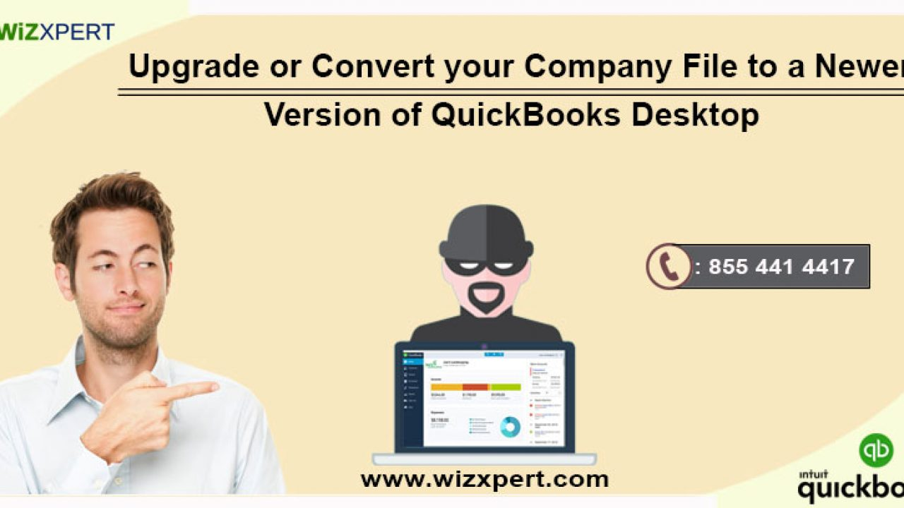 Upgrade or Convert your Company File to a Newer Version of
