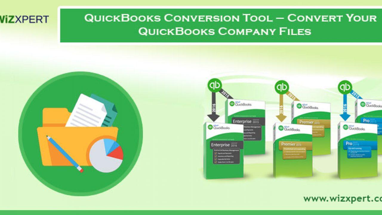 QuickBooks Conversion Tool | Convert Your QuickBooks Company Files