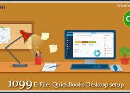 QuickBooks 1099 e File and Desktop setup