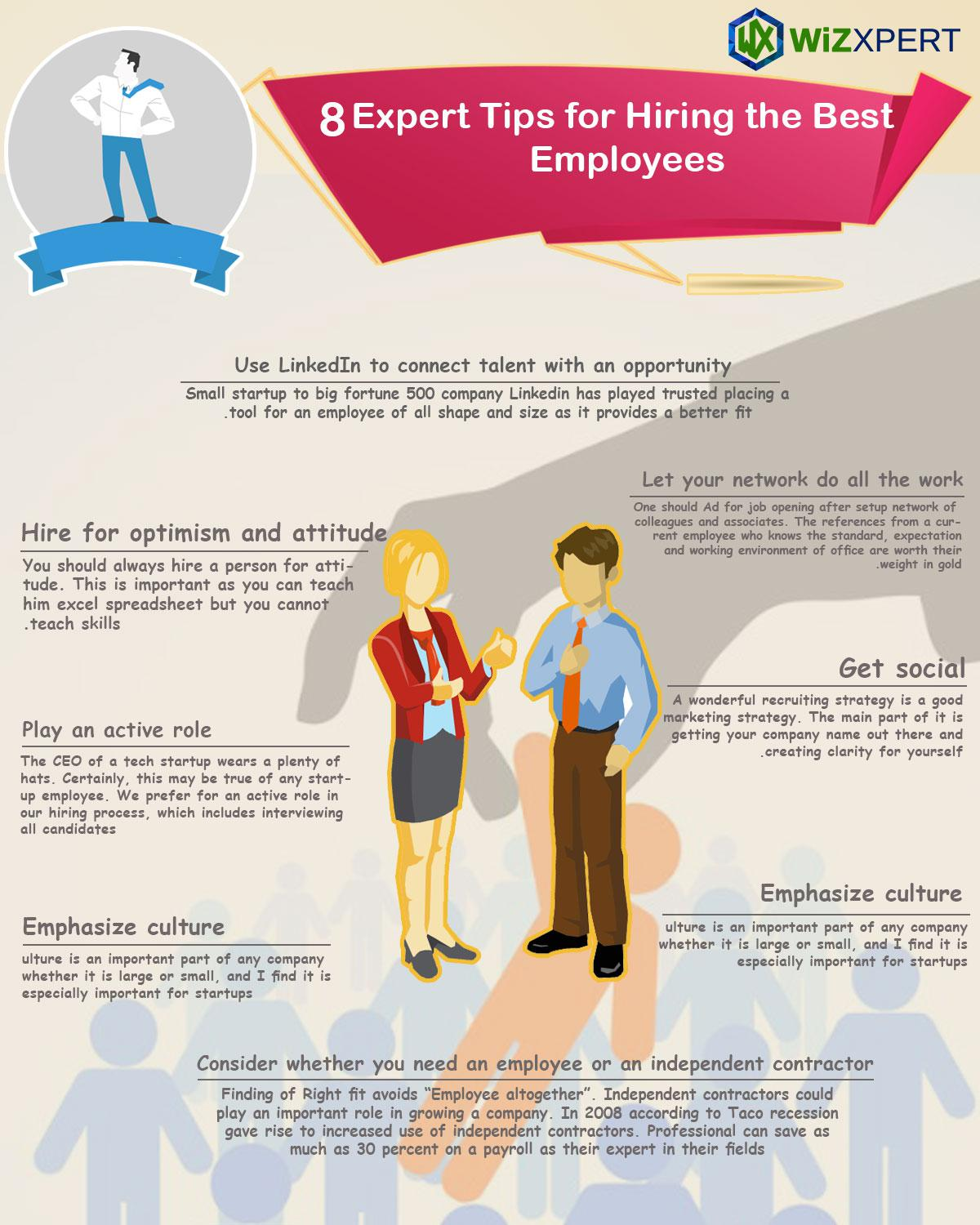 8 Expert Tips for Hiring the Best Employees