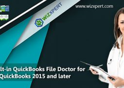 Use Built-in QuickBooks File Doctor