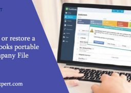 All You Need To Know For Creating And Restore a QuickBooks Portable Company File