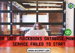 Error 1920: QuickBooks Database Manager Service failed to start
