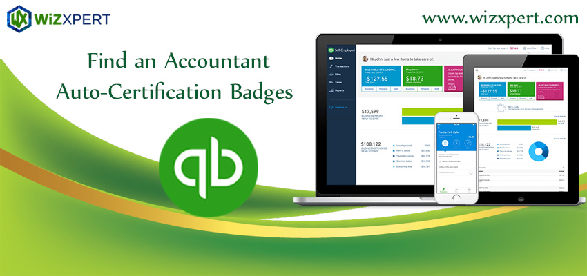Find an Accountant Auto Certification Badges