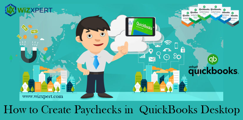 How to Create Paychecks in QuickBooks Desktop