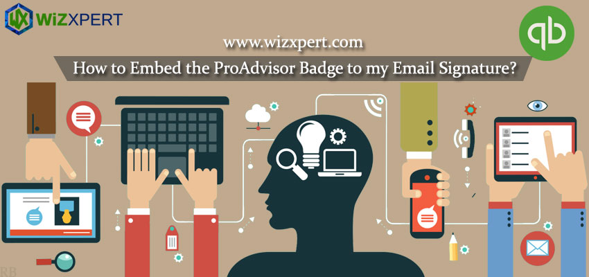 How to Embed the ProAdvisor Badge to my Email Signature?