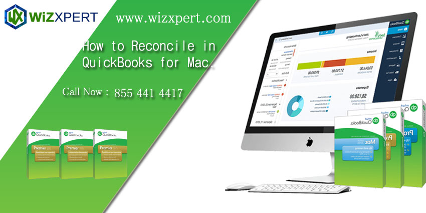 How to Reconcile in QuickBooks for Mac