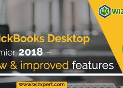 QuickBooks Desktop Premier 2018 – New & improved features
