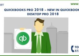 QuickBooks Desktop Pro - What's New in 2018