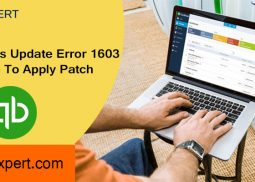 QuickBooks Update Error 1603: Unable To Apply Patch