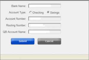 Account in QuickBooks