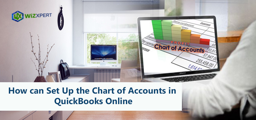 How can Set Up the Chart of Accounts in QuickBooks Online?