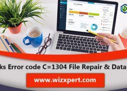 QuickBooks Error code C=1304 File Repair & Data Recovery