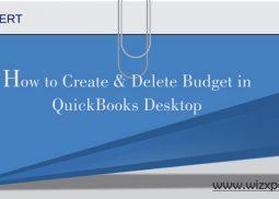 How to Create & Delete Budget in QuickBooks Desktop?