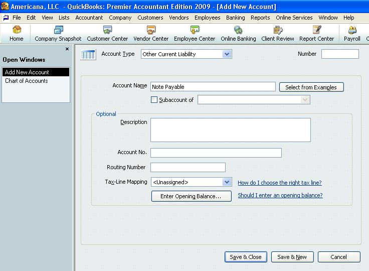 QuickBooks Loan Manager: Record a loan payment in QuickBooks 1