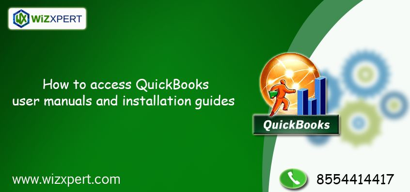 how to access quickbooks user manuals and installation guides rh wizxpert com QuickBooks Pro 2012 Manual quickbooks user guide and manual