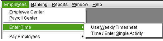 Create Timesheets and Time Data Report in QuickBooks