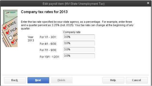 How to change SUI tax rates- basic, enhanced or standard Payroll