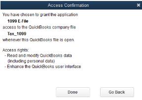 1099 E-File: QuickBooks Desktop setup