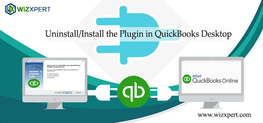 Uninstall/Install the Plugin in QuickBooks Desktop