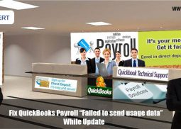 "Fix QuickBooks Payroll ""Failed to send usage data"" While Update"