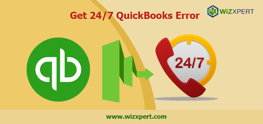 Get 24/7 QuickBooks Error Support