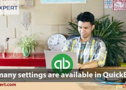 How many settings are available in QuickBooks