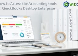 How to Access the Accounting tools in QuickBooks Desktop Enterprise