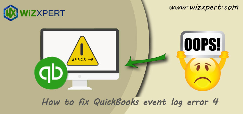 How to fix QuickBooks event log error 4