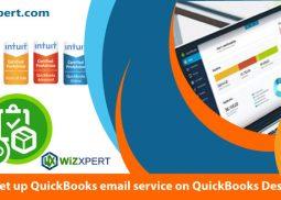 How to set up QuickBooks email service on QuickBooks Desktop