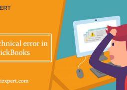 Most Common Technical Errors in QuickBooks