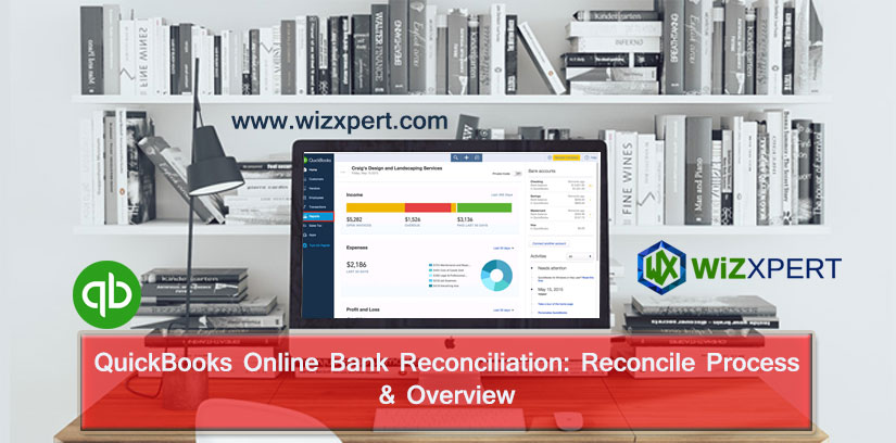 QuickBooks Online Bank Reconciliation: Reconcile Process & Overview