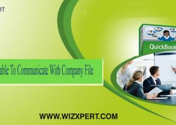 QuickBooks Unable To Communicate With Company File