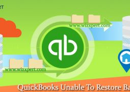 QuickBooks Unable To Restore Backup File