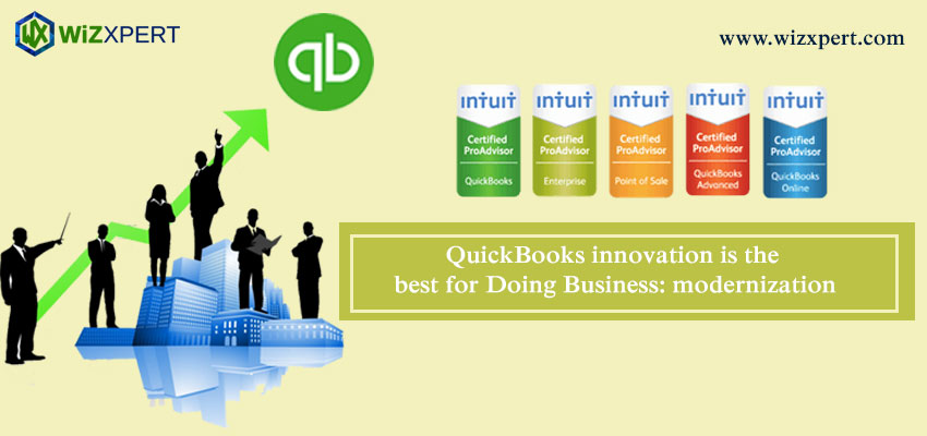 QuickBooks innovation is the best for Doing Business: modernization