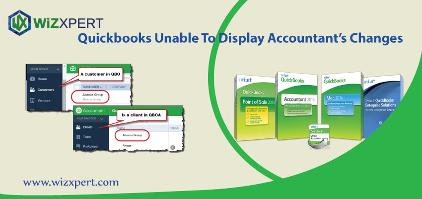 Quickbooks Unable To Display Accountant   s Cha