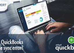 What is QuickBooks online sync error?
