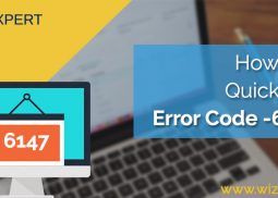 How To Fix QuickBooks Error Code 6147, 0