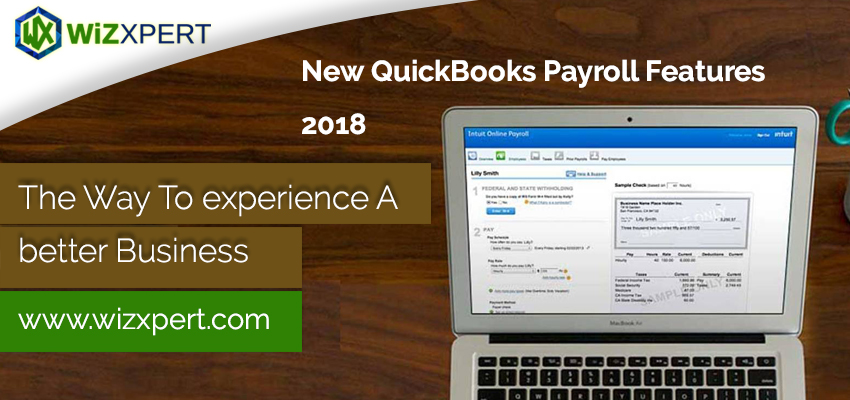 New QuickBooks Payroll 2018 1