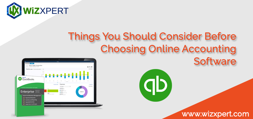 Things You Should Consider Before Choosing Online Accounting Software