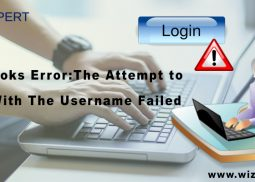 QuickBooks Error: The Attempt to Log In With The Username Failed