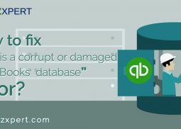 """How to fix """"This is a corrupt or damaged QuickBooks database"""" error?"""