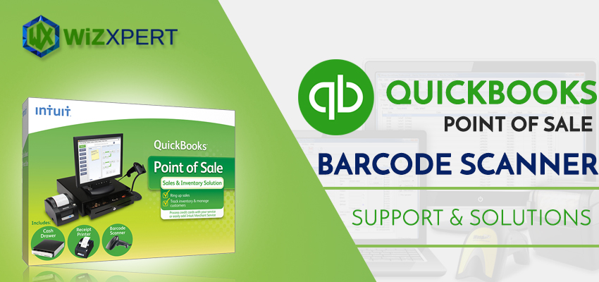 QuickBooks Point of Sale Barcode Scanner Support Solutions