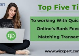 Top Five Tips To Working With QuickBooks Online's Bank Feed For Matching Transaction.