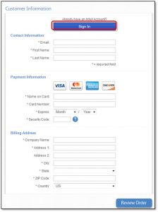Purchase QuickBooks Products