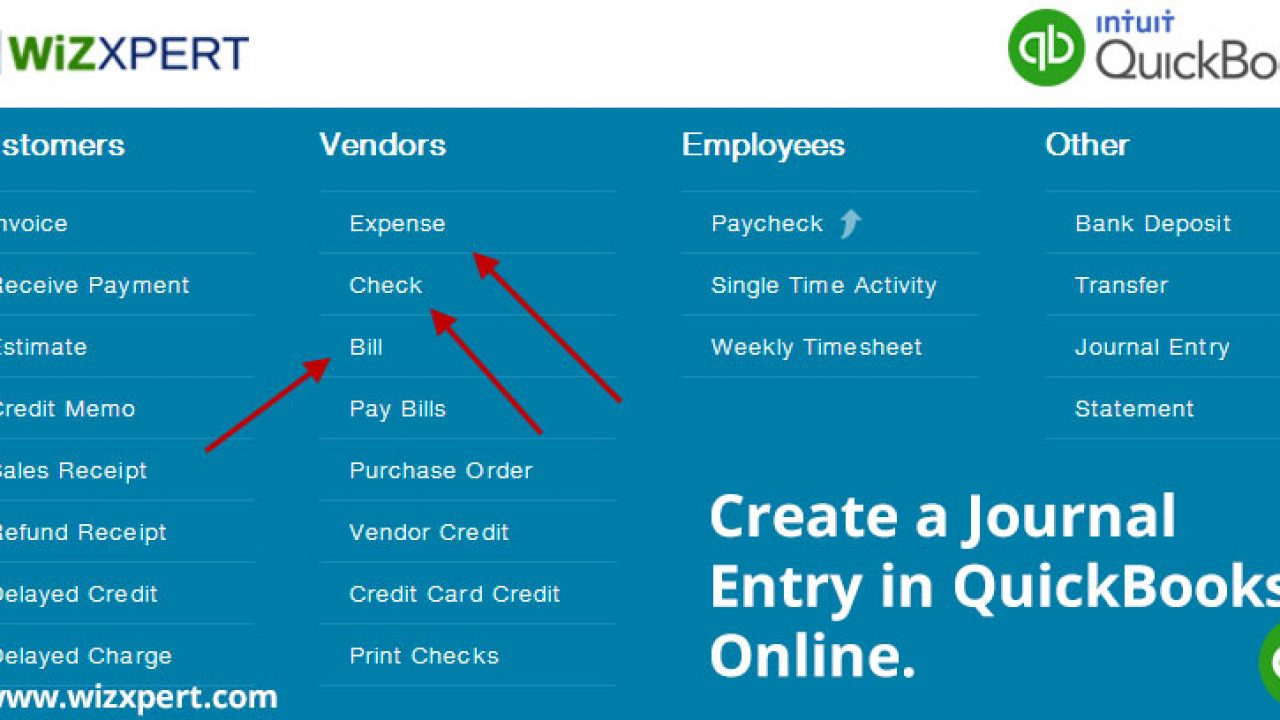 Create, Import And Export A Journal Entry In QuickBooks Online