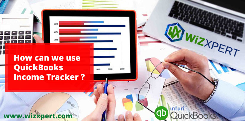 How can we use QuickBooks Income Tracker