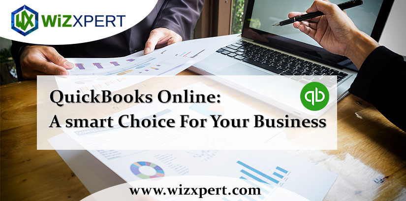 QuickBooks Online A smart Choice For Your Business