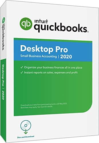 QuickBooks Desktop Pro 2020