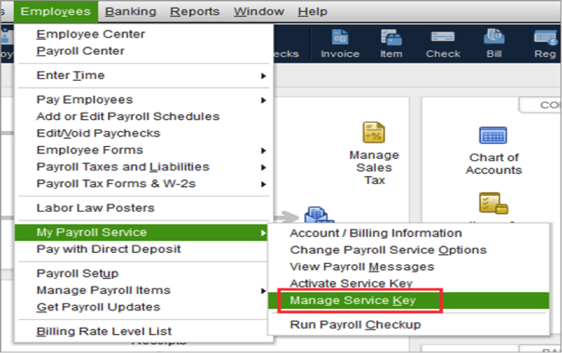 Manage Payroll Service